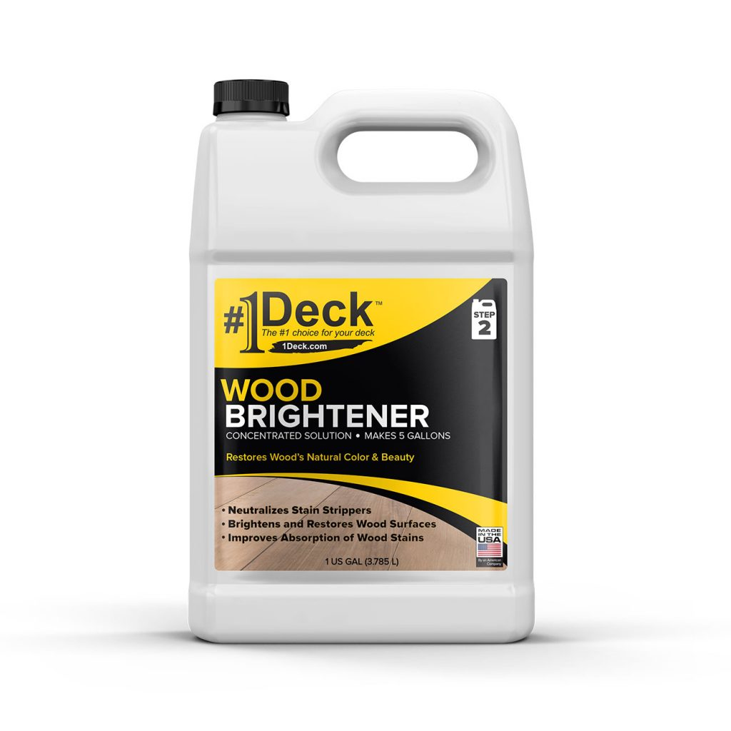 #1 Deck Wood Brightener