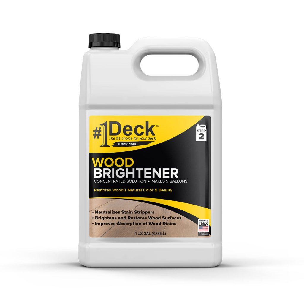 #1 Deck Wood Brightener