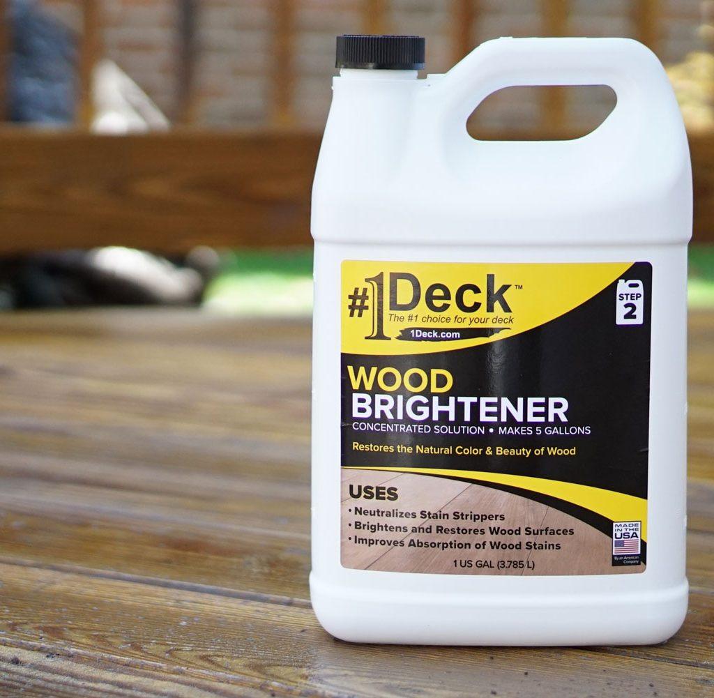 Wood-brightener-deck