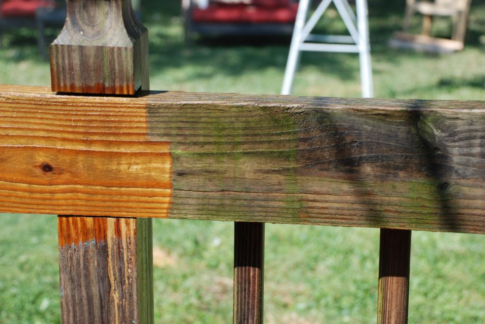 DECK PREP: Cleaning The Wood